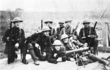 Lewis Gun team at Shkotovo