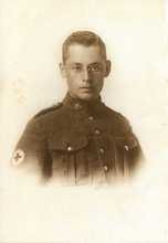 Pte. Edwin Stephenson - Canadian Army Medical Corps - c. 1918